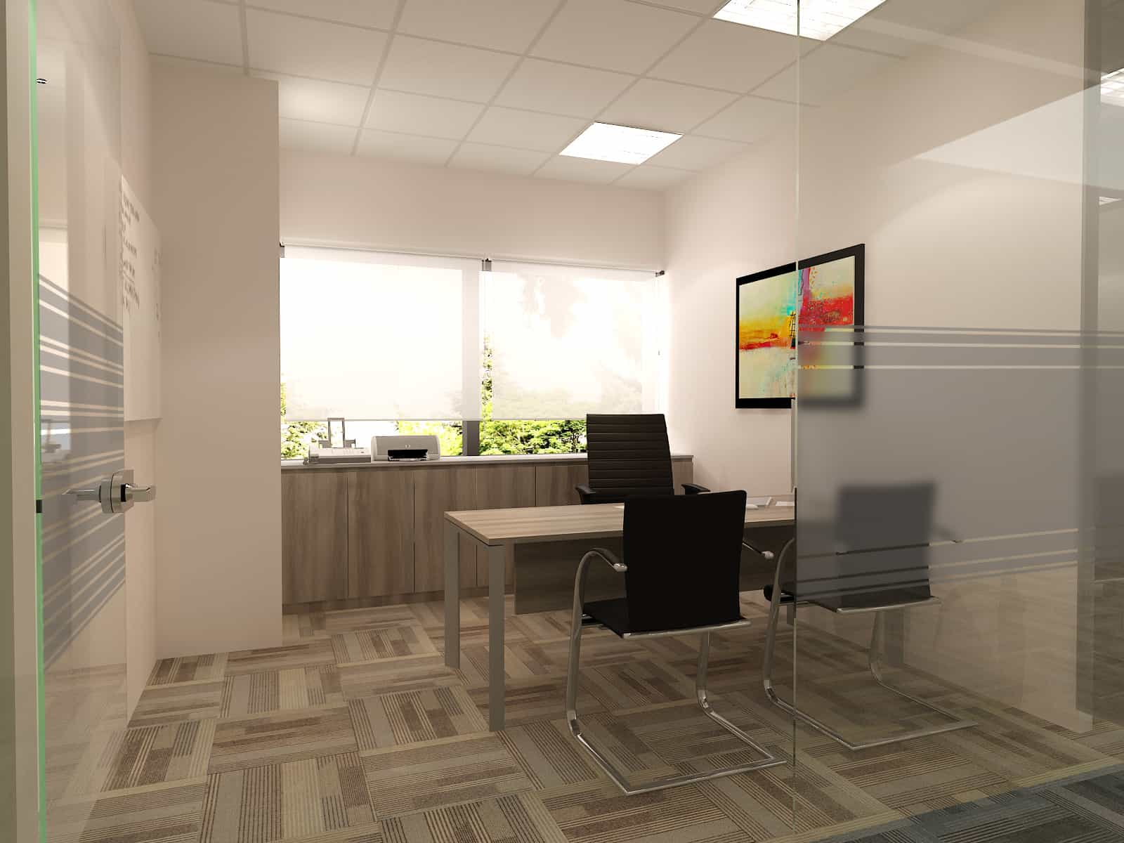 Turnkey office interior fit out | D'Alliance